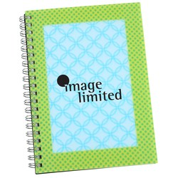 View a larger, more detailed picture of the 3D Spiral Notebook - Rectangle - Closeout