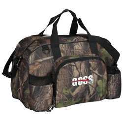 View a larger, more detailed picture of the Apex Duffel - Camo - Embroidered