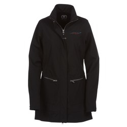 View a larger, more detailed picture of the OGIO Urban Soft Shell Trench - Ladies