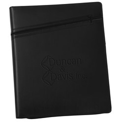 View a larger, more detailed picture of the Cross Zippered Padfolio - Debossed