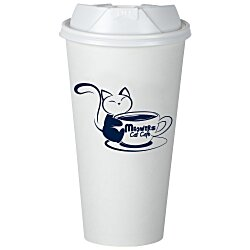 View a larger, more detailed picture of the Insulated Paper Travel Cup - 20 oz - Low Qty