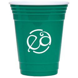 View a larger, more detailed picture of the Double Wall Party Cup- 16 oz - Closeout