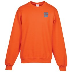 View a larger, more detailed picture of the Jerzees NuBlend Crewneck Sweatshirt - Embroidered