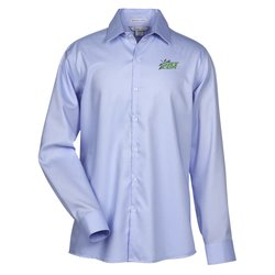 View a larger, more detailed picture of the Refine Wrinkle Free Royal Oxford Dobby Shirt - Men s