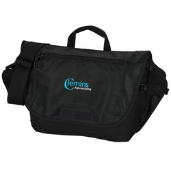 View a larger, more detailed picture of the Sync Computer Messenger Bag - Embroidered