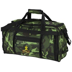 View a larger, more detailed picture of the Navigator Weekender Duffel - Camo - Embroidered