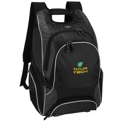 View a larger, more detailed picture of the elleven Drive Checkpoint-Friendly Laptop Backpack - Emb