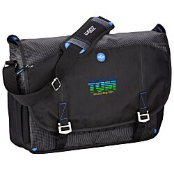 View a larger, more detailed picture of the Zoom Checkpoint-Friendly Laptop Messenger - Emb