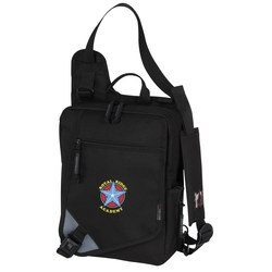 View a larger, more detailed picture of the Falcon Ultrabook Messenger - Embroidered