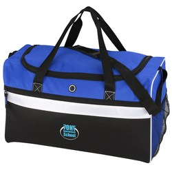 View a larger, more detailed picture of the Big Stripe Duffel - Embroidered