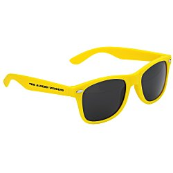 View a larger, more detailed picture of the Silky Smooth Retro Sunglasses - Opaque