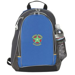 View a larger, more detailed picture of the Title Track Backpack - Embroidered