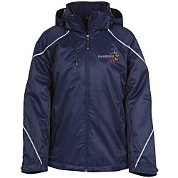 View a larger, more detailed picture of the Angle 3-In-1 Bonded Fleece Liner Jacket - Ladies