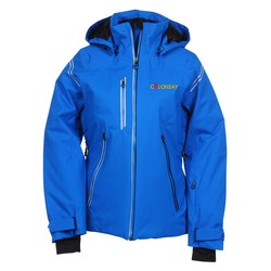 View a larger, more detailed picture of the Ventilate Insulated Hooded Jacket - Ladies