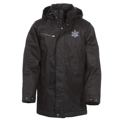 View a larger, more detailed picture of the Enroute Textured Insulated Jacket - Men s