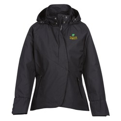 View a larger, more detailed picture of the Skyline City Twill Insulated Jacket - Ladies