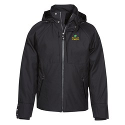 View a larger, more detailed picture of the Skyline City Twill Insulated Jacket - Men s