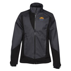 View a larger, more detailed picture of the Commute Two-Tone Soft Shell Jacket - Men s