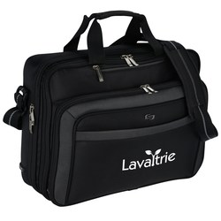 View a larger, more detailed picture of the Solo Checkfast Laptop Brief Bag