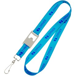 View a larger, more detailed picture of the Bottle Opener Lanyard w Swivel Hook