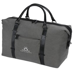 View a larger, more detailed picture of the Kenneth Cole Canvas Duffel Bag