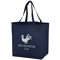 View a larger, more detailed picture of the Bottom Gusset Shopper - 13 x 19-1 2