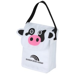 View a larger, more detailed picture of the Paws and Claws Lunch Bag Cow