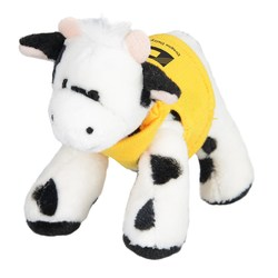 View a larger, more detailed picture of the Mini Cuddly Friends - Cow