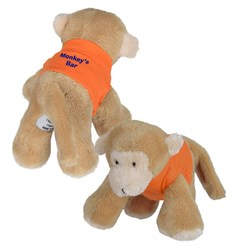 View a larger, more detailed picture of the Mini Cuddly Friends - Monkey
