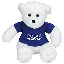 View a larger, more detailed picture of the Traditional Teddy Bear - White