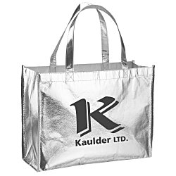 View a larger, more detailed picture of the Metallic Gloss Designer Tote