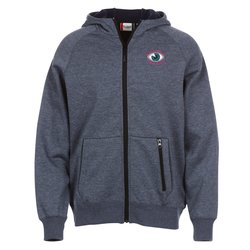 View a larger, more detailed picture of the Lund Bonded Fleece Full Zip Hoodie - Men s