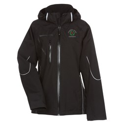 View a larger, more detailed picture of the Cutter & Buck Weathertec Glacier Jacket - Ladies