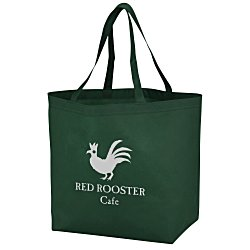 View a larger, more detailed picture of the Bottom Gusset Shopper - 13 x 19-1 2 - 24 hr