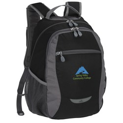 View a larger, more detailed picture of the High Sierra Curve Backpack - Embroidered