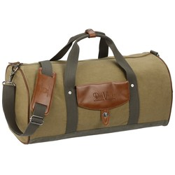 View a larger, more detailed picture of the Cutter & Buck Legacy Cotton Roll Duffel