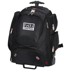 View a larger, more detailed picture of the elleven Wheeled Security-Friendly Laptop Backpack