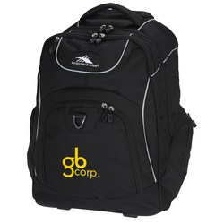 View a larger, more detailed picture of the High Sierra Powerglide Wheeled Laptop Backpack