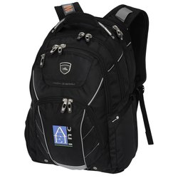 View a larger, more detailed picture of the High Sierra Elite Fly-By Laptop Backpack - Embroidered