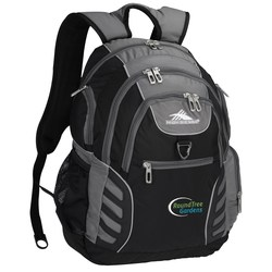 View a larger, more detailed picture of the High Sierra Big Wig Laptop Backpack - Embroidered