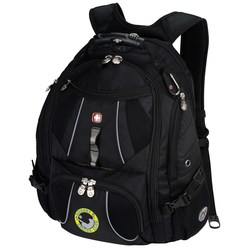 View a larger, more detailed picture of the Wenger Mega Laptop Backpack - Embroidered