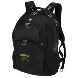 View a larger, more detailed picture of the Wenger Scan Smart Laptop Backpack - Embroidered