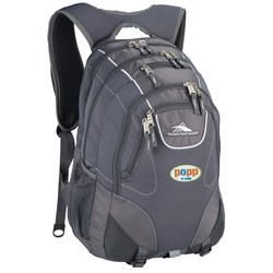 View a larger, more detailed picture of the High Sierra Vortex Fly-By Laptop Backpack - Embroidered