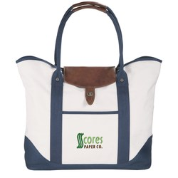 View a larger, more detailed picture of the Cutter & Buck Legacy Cotton Boat Tote - Embroidered