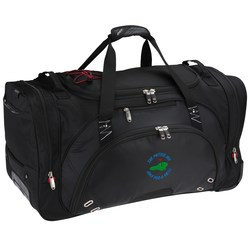 View a larger, more detailed picture of the elleven 26 Wheeled Duffel - Embroidered