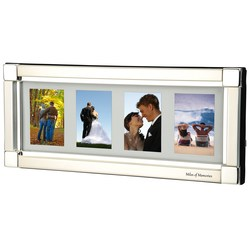 View a larger, more detailed picture of the Apollo Four-Image Photo Frame - Closeout