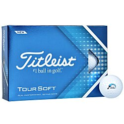 View a larger, more detailed picture of the Titleist NXT Tour Golf Ball - Dozen - Standard