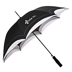 View a larger, more detailed picture of the Crescent Accent Umbrella - 46 Arc