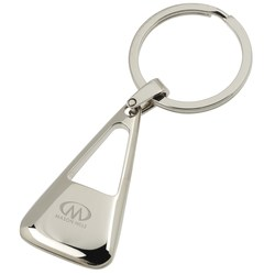 View a larger, more detailed picture of the Vector Triangle Key Tag - Closeout