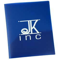 View a larger, more detailed picture of the Two Pocket Business Card Folder